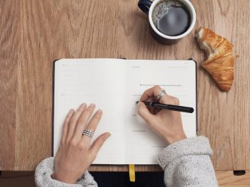 Pros and cons of food journal photo